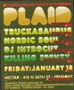 Truckasauras and Plaid at Nectar flyer